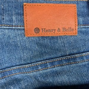 Henry & Belle Jeans - HENRY & BELLE 2 Tone High Waisted Flare Jean 26